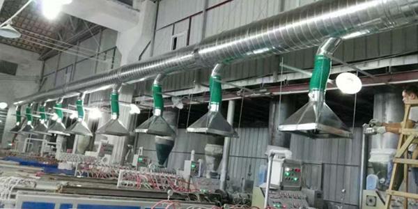 淼森环保介绍通风设备通风机的主要部件