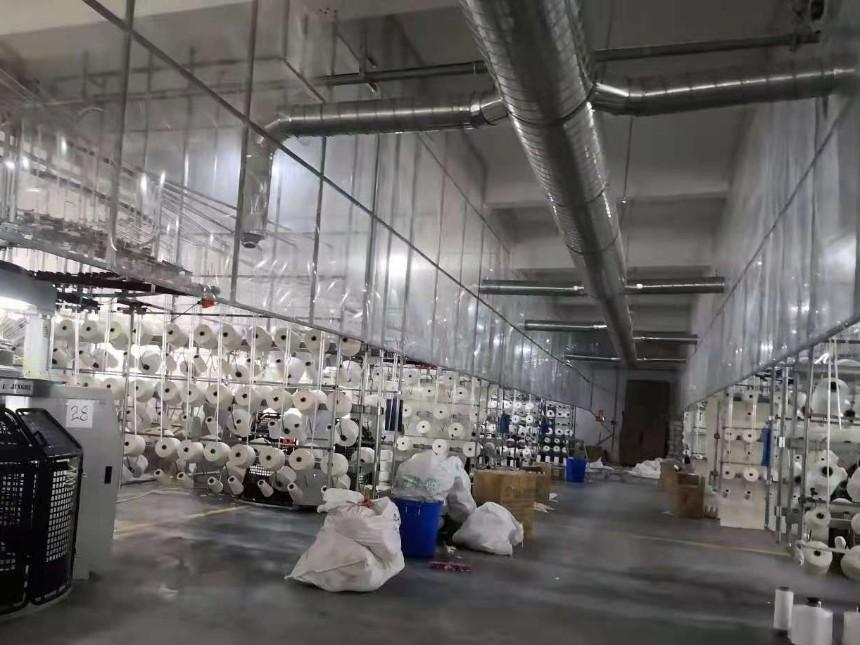 环保空调车间通风降温案例-某纺织厂降温通风项目
