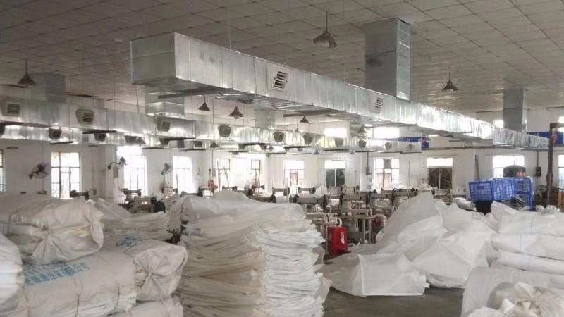 纺织服装制衣厂车间冷风机降温通风工程