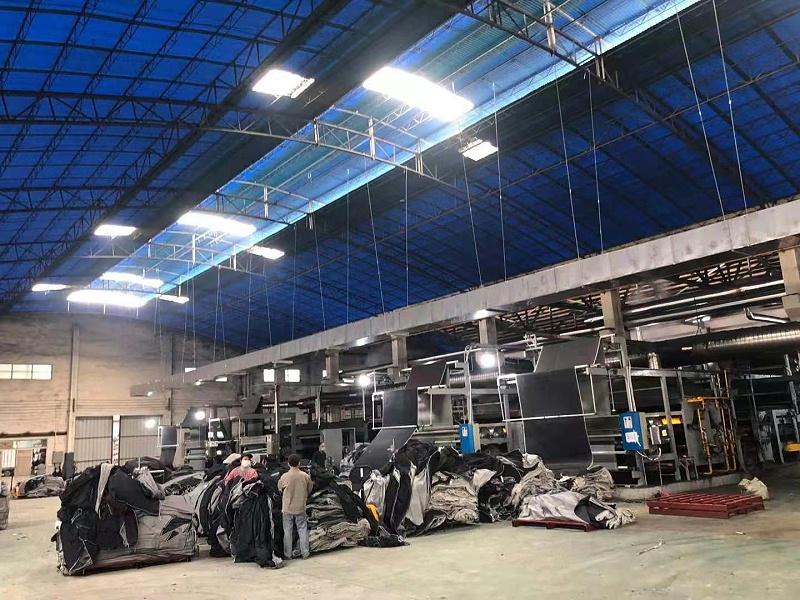 纺织服装牛仔布车间降温工程