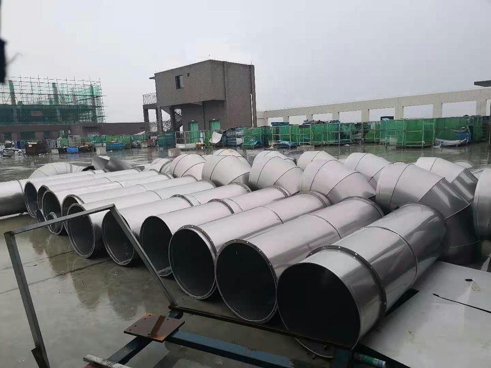 不锈钢304管道  通风管道  排烟管道  除尘管道  通风工程