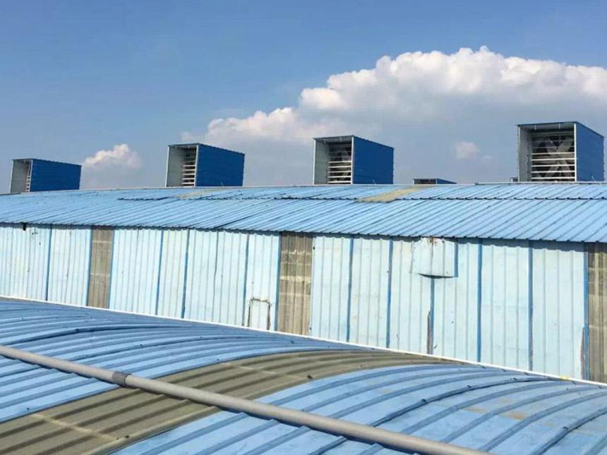 厂房降温通风换气解决方案