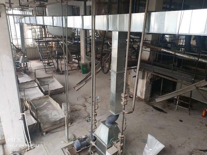 广州某箔板有限公司车间粉尘防爆处理工程