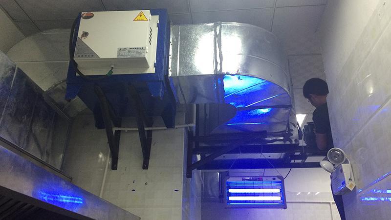 深圳某餐饮厨房通风排烟工程