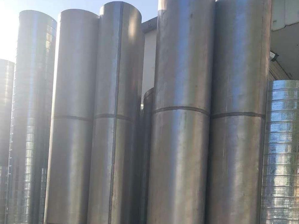 车间风槽更换,机台排气管安装,通风风槽翻新,排气管